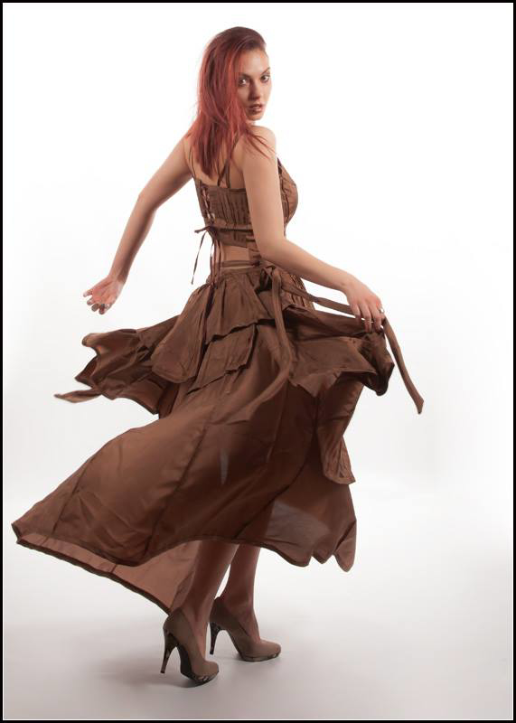 Picture of Spanish wrap skirt